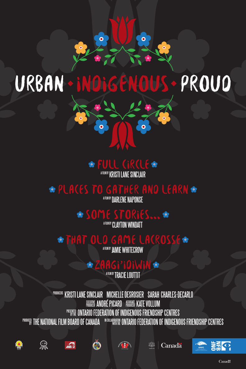 Urban. Indigenous. Proud. poster